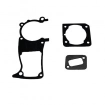 Chainsaw Crankcase Cylinder Muffler Gasket For Husqvarna 340 345 346 XP 350 OEM# 503 89 44 01 503 86 25 01