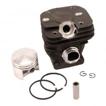 42mm Cylinder Piston Kit For Stihl 024 MS240 Chainsaw 1121 020 1200 With Pin Ring Circlip
