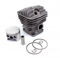 52MM Cylinder Piston Kit For Stihl 046 MS460 Chainsaw 1128 020 1221 With Pin Ring Circlip