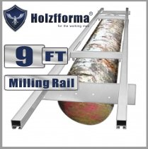 9FT Genuine Holzfforma Milling Rail System, Milling Guide Set Works with all 20/24/36/48 inch Small Chainsaw mills