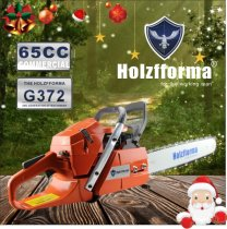 65cc Holzfforma G372 Gasoline Chain Saw Power Head Without Guide Bar and Chain Top Quality By Farmertec One year warranty All Parts Are Compatible With Husqvarna 365 Chainsaw