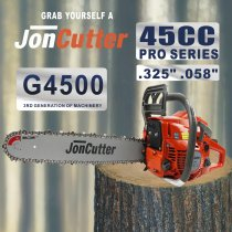 45cc JonCutter Home Use Gasoline Chainsaw Power Head Without Saw Chain and blade One Year Warranty