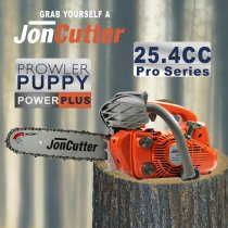 25.4cc JonCutter Prowler Puppy Top Handle Arborist Gasoline Chainsaw Power Head Without Saw Chain and blade One Year Warranty