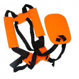 SHOULDER STRAP HARNESS FIT STIHL HUSQVARNA HOMELITE ECHO SHINDAIWA ROBIN DOLMAR SOLO MCCULLOCH TANAKA RED MAX SEARS BRUSH CUTTERS / LINE TRIMMERS / EDGER ETC.