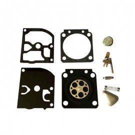 Zama RB-46 Carb Repair Rebuild Diaphragm Gasket Kit Fit C1Q-H17 Carburetor Homelite & Sears 200 Chainsaw Models