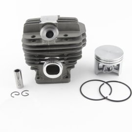 50mm Cylinder Piston Kit per Stihl 044 MS440 MS 440 Motosega con decompressione. Sostituzione porta # 1128-020-1227