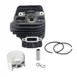 44mm Cylinder Piston Kit For Stihl 026 MS260 Chainsaw 1121 020 1203 With Pin Ring Circlip