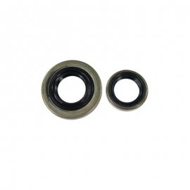 Crankcase Crankshaft Oil Seal Seals (13.5x20x4, 15x29.6x4) For STIHL 046 MS460 and MAGNUM OEM# 9640 003 1355, 9640 003 1600