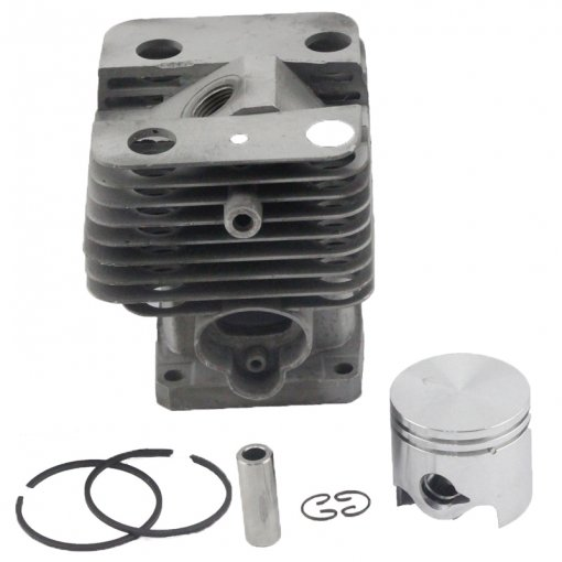 Stihl FS120 FS200 FS200R FS020 FS202 TS200 FS250 FS250R BT120 BT121 HT250 Cylinder Piston Kit 38mm With Pin Ring Circlip 4134 020 1212