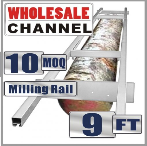 WHOLESALE MOQ 10 NOS 9FT Genuine Holzfforma Milling Rail System, Milling Guide Set Works with all 20/24/36/48 inch Small Chainsaw mills