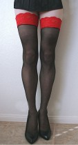 Lace Top Sheer Thigh Highs 2014