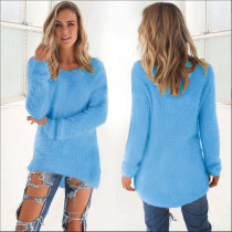 Blue Pullover Sweater 0179