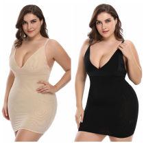 Plus Size Women Full Body Shapwear Control Slips 9937