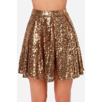 Sequin A Line Skirt 9012