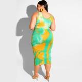 Two Piece Dress Designs For Fat Women 19226