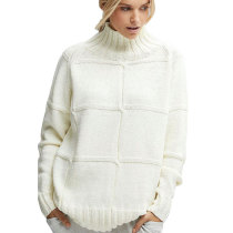 3 Colors Chunky Knit Sweater Women 5519