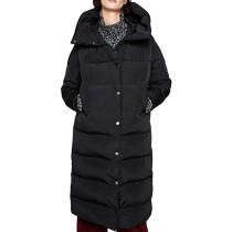Plus Size Hooded Long Winter Coat DK039