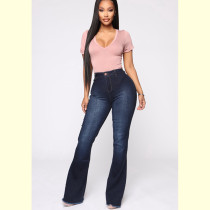 High Rise Bootcut Jeans For Women 0338