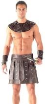 Leather Men Rome Gladiator Costume Lingerie 908