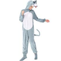 M-L Women Timber Wolf Animal Costume 3331
