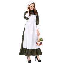 M-XL Women Maid Costume 3320