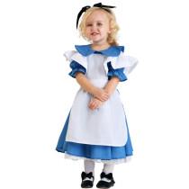 S-XL Children Girls Maid Costume 19011