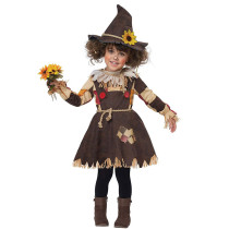 The Wonderful Wizard of Oz Scarecrows Cosplay Girls Costume 19015