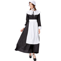 M-XXL Women Maid Costume 3327