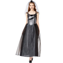 Women Adult Ghost Bride Party Cosplay Costume 3326