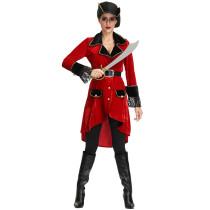 Hallowen Pirate Costume Women 4212