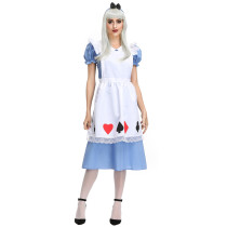 M-XL Adult Maid Cosplay Costume 4161