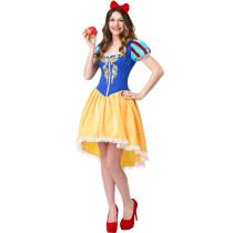 M-XXL Adult Women Snow Princess Costume 3371