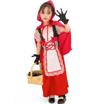 Kids Little Red Riding Hood Costume 1843