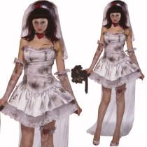 Halloween Bride Cosplay Costume 8200