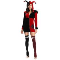 Adult Haley Quinn Clown Costume 4278