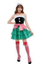 Women Santa Costume(M,XL) 8891