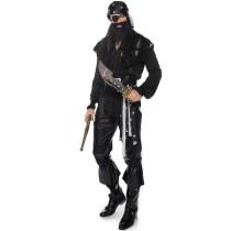 M-XXL Men Pirate Cosplay Costume 1809