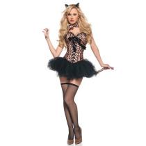 Sexy Leopard Cat Costume 3782