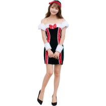 Women Santa Costume(M,XL) 8890