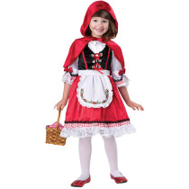 Red Riding Hat Costume For Girl 3366