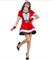 Women Santa Costume(M,XL) 8902