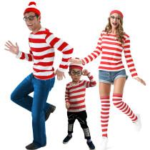 Family Matching Wally Shirt Costume 9231