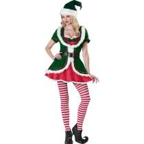 Santa Baby Christmas Dress with Stockings 1186