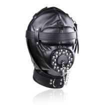 Leather Hood Mask Adult Toys 312400010