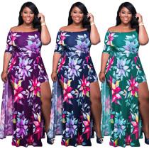 Plus Size Beach Dresses For Women  P5005