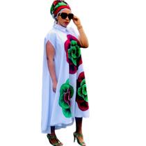 African Boubou Dress For Women D017