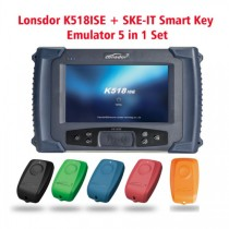 Lonsdor K518ISE Key Programmer Plus SKE-IT Smart Key Emulator 5 in 1 Set Full Package