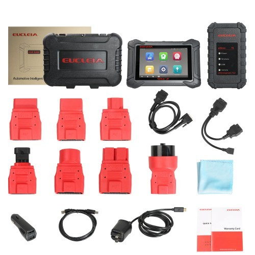 EUCLEIA TabScan S8 Automotive Intelligent Dual-mode Diagnostic System Free Update Online for 18 Months