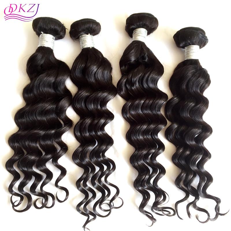 Us 116 Seven Hair 9a 4pcs Peruvian Loose Wave Virgin Hair Bundles