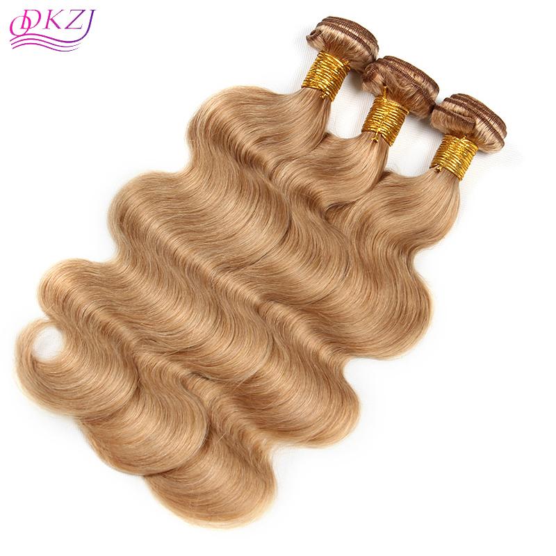 Us 35 27 Color Brazilian Human Hair Body Wave Honey Blonde Hair